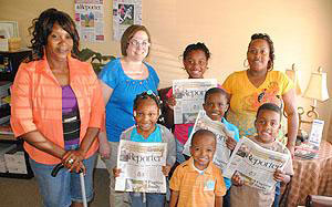 Forsyth students visit The Monroe County Reporter