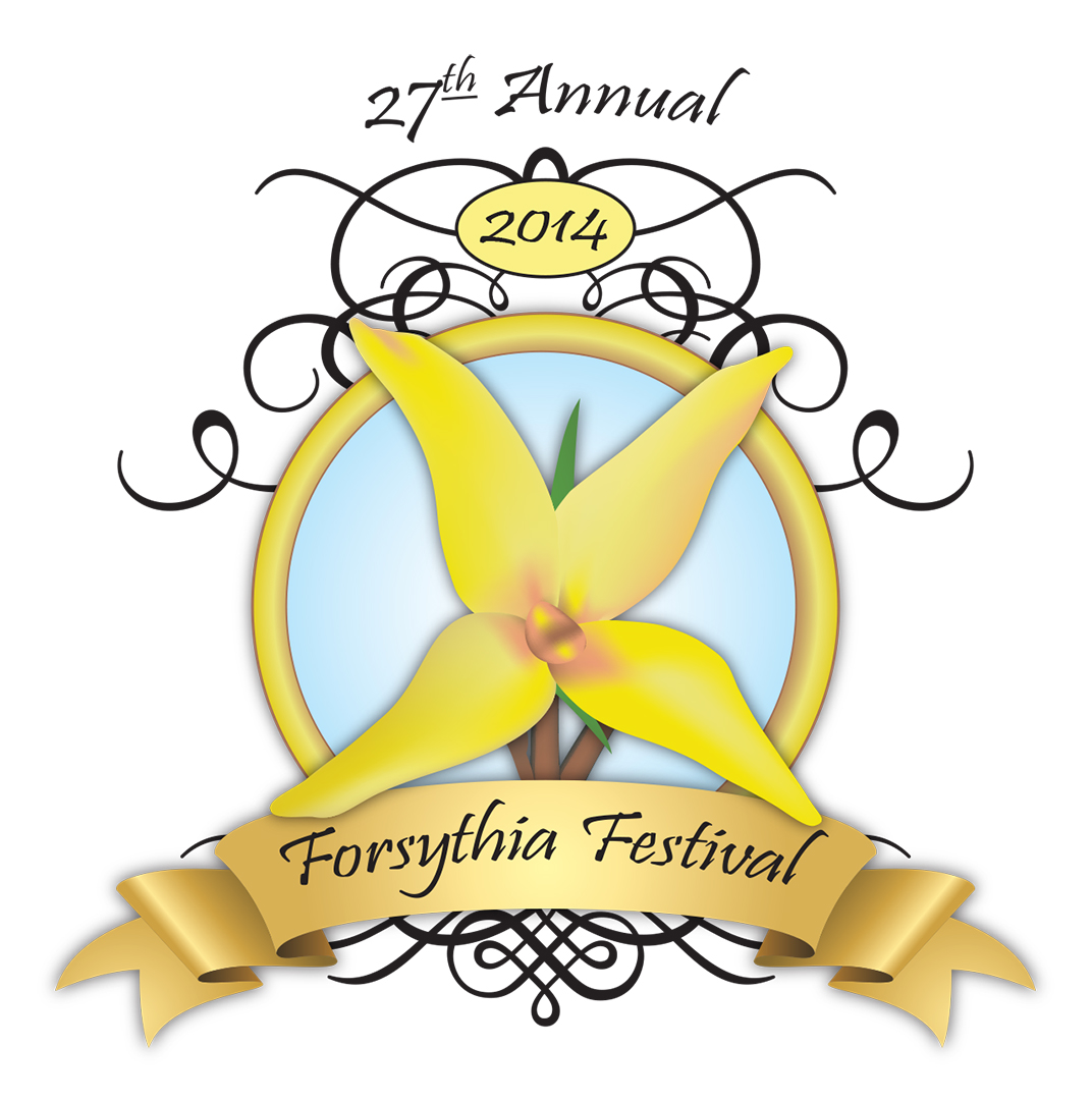 2014 Forsythia Festival Logo