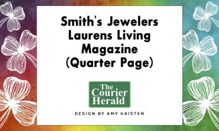 Smith's Jewelers Laurens Living Magazine (Quarter Page)