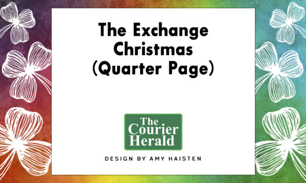 The Exchange Christmas (Quarter Page)