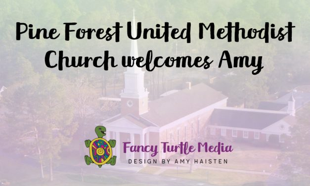 Pine Forest United Methodist Church welcomes Amy