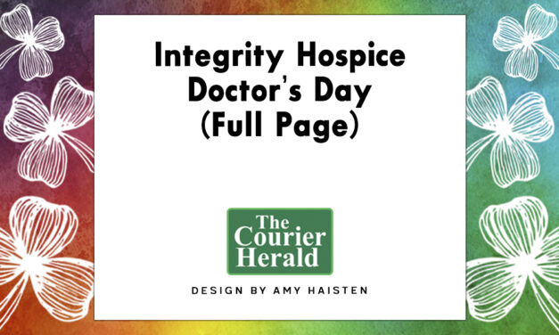 Integrity Hospice Doctor's Day (Full Page)
