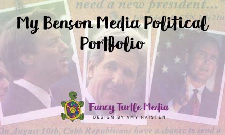 My Benson Media Political Portfolio