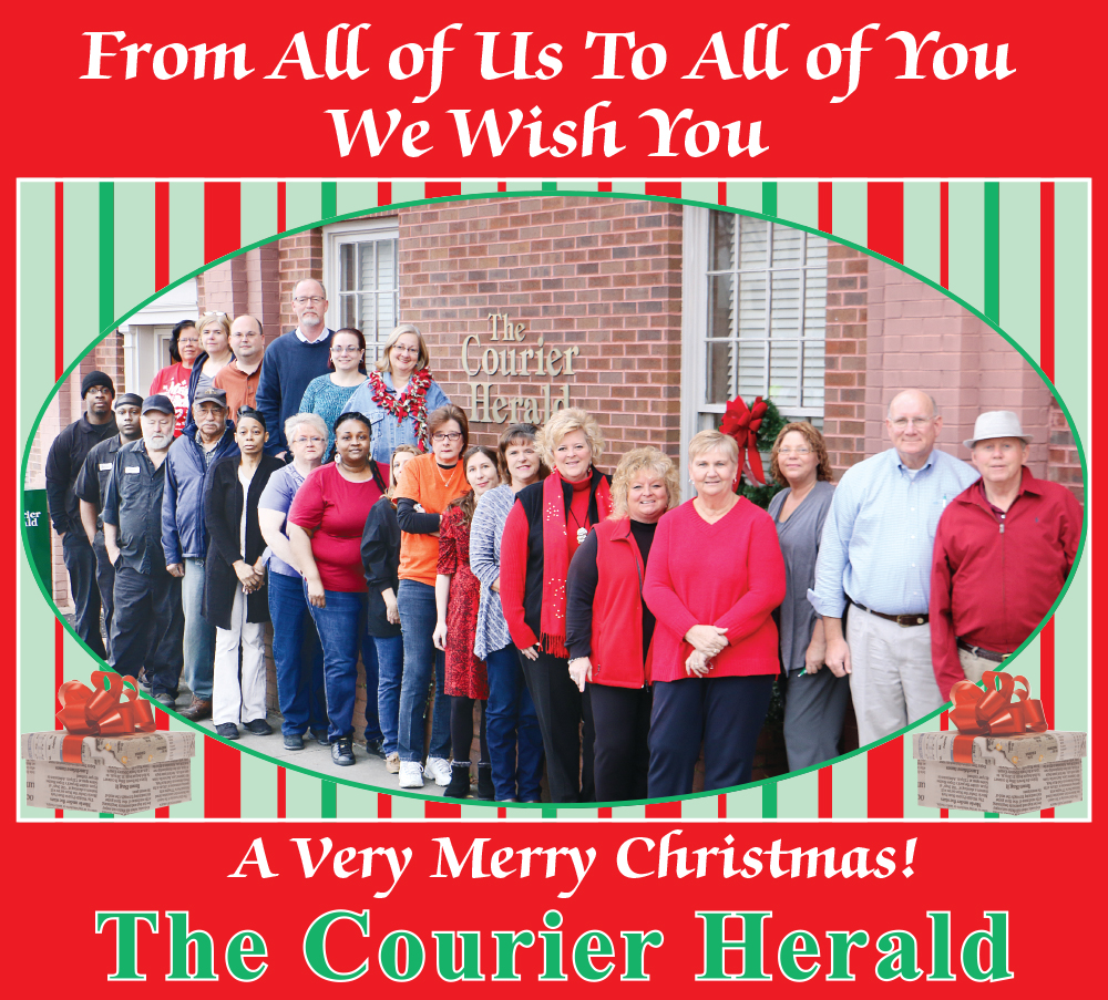 The Courier Herald 2015 Christmas Greeting