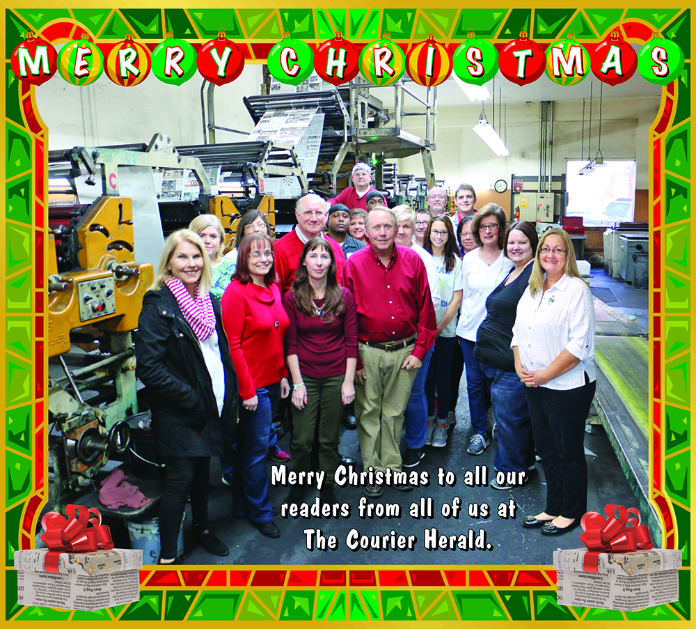 The Courier Herald 2016 Christmas Greeting