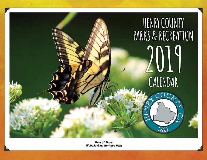 Henry County Parks & Recreation 2019 Calendar