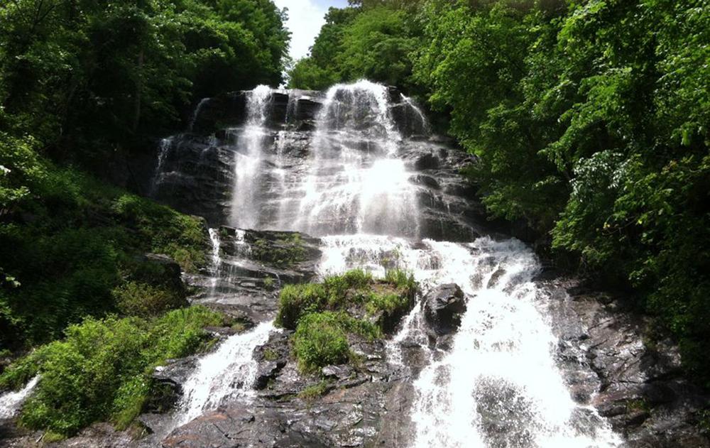 Amicalola Falls in Dawsonville, GA
