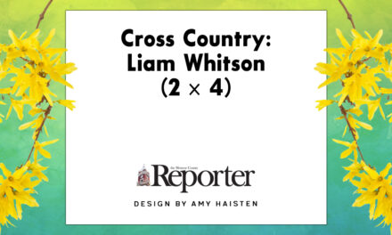 Cross Country: Liam Whitson (2 x 4)