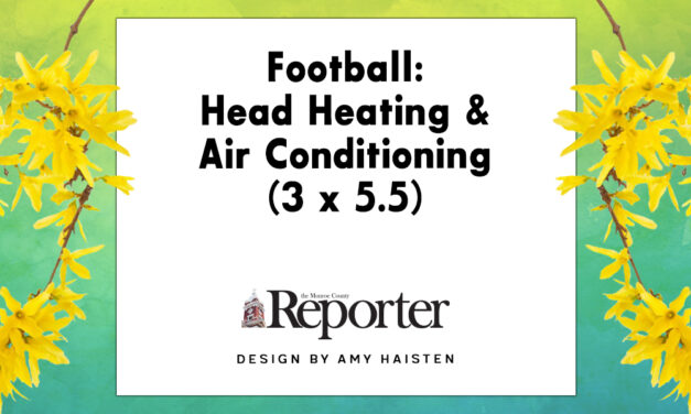 Football: Head Heating & Air Conditioning (3 x 5.5)