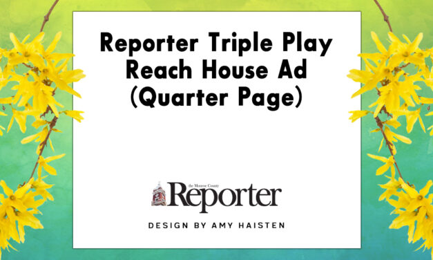 Reporter Triple Play Reach House Ad (Quarter Page)