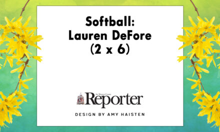 Softball: Lauren DeFore (2 x 6)