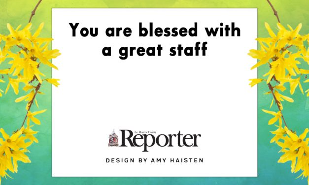 You are blessed with a great staff
