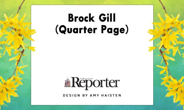 Brock Gill (Quarter Page)