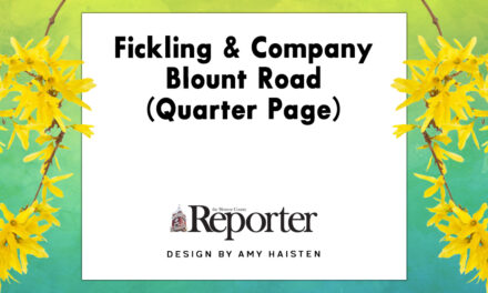 Fickling & Company: Blount Road (Quarter Page)