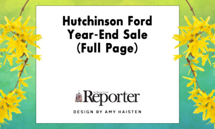 Hutchinson Ford Year-End Sale (Full Page)