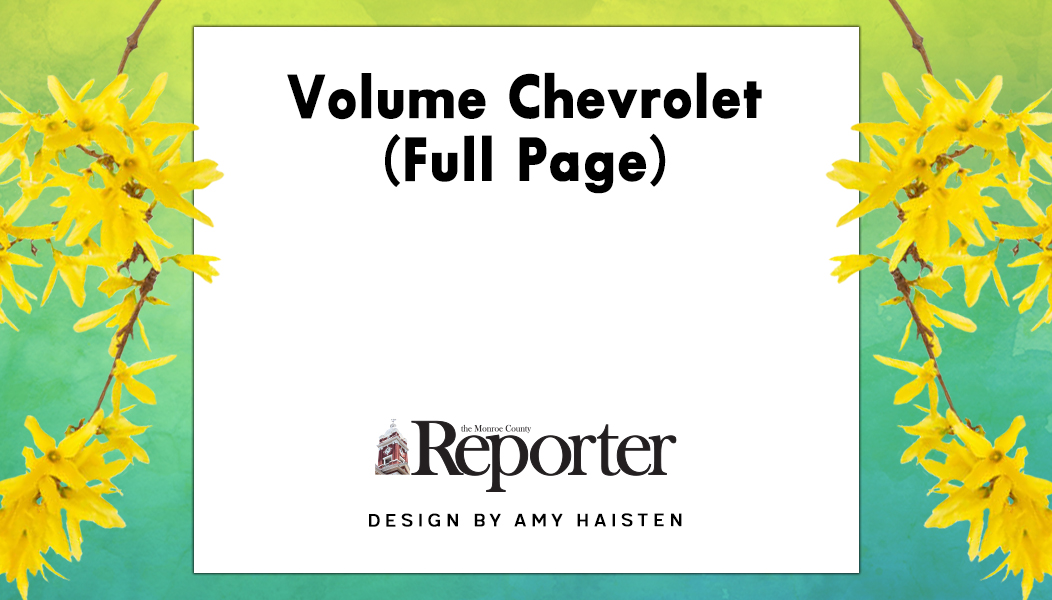 Volume Chevrolet (Full Page)