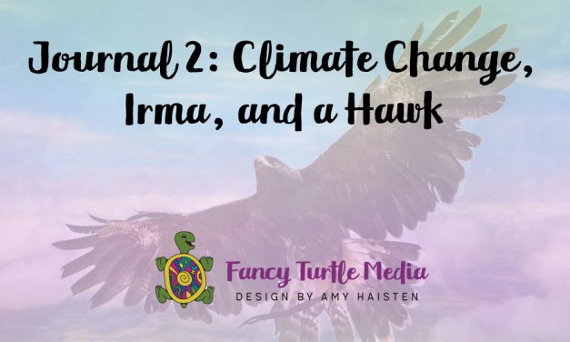 Journal 2: Climate Change, Irma, and a Hawk
