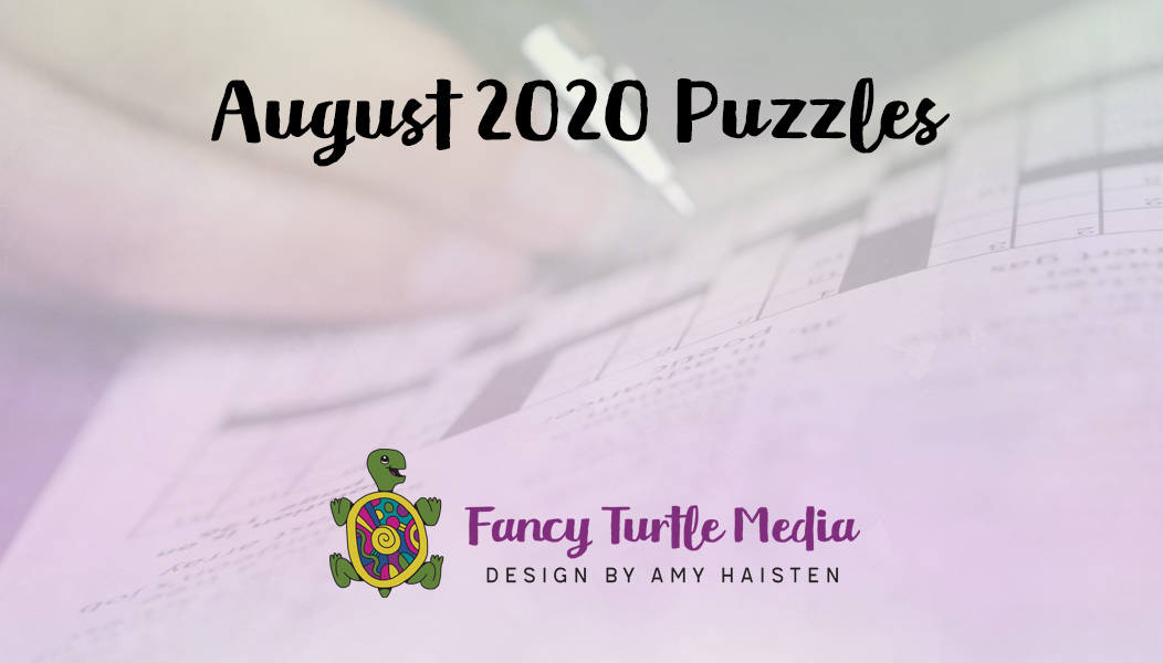 August 2020 Puzzles