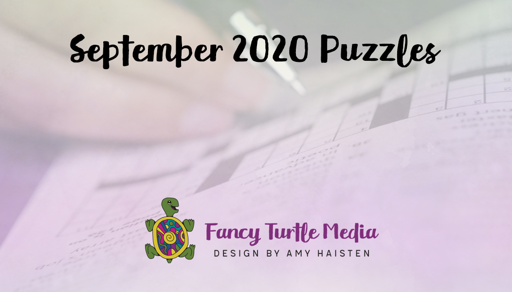 September 2020 Puzzles