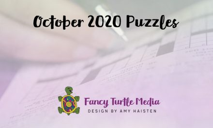 October 2020 Puzzles