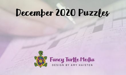December 2020 Puzzles