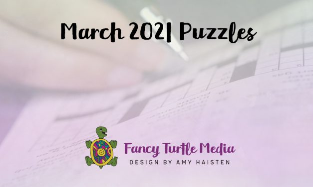 March 2021 Puzzles