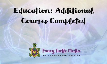 Education: Additional Courses Completed
