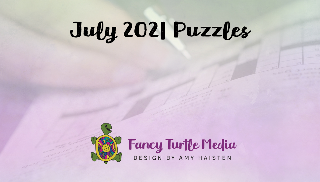 July 2021 Puzzles