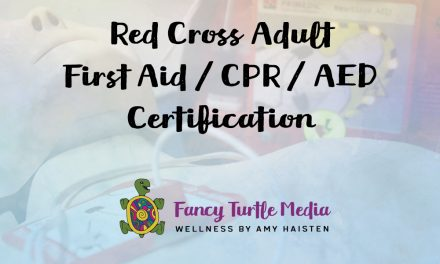 Red Cross Adult First Aid / CPR / AED Certification