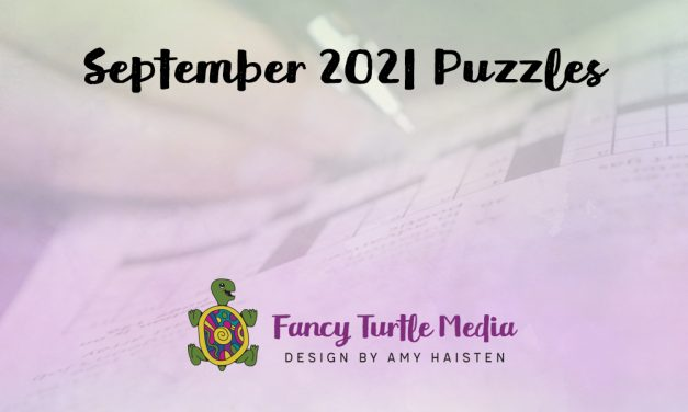 September 2021 Puzzles